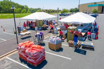COVID-19 Brings Pressing Need for Emergency Food Distribution Events