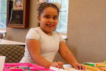 You make a difference for Kosair Kid, Itzel!