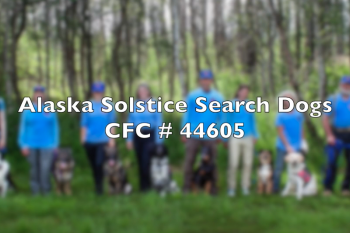 Alaska Solstice Search Dogs CFC 44605