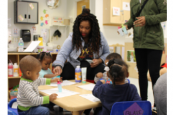 Parent and Her Preschooler Thrive at Porter-Leath