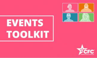 Cover image of the Events Toolkit